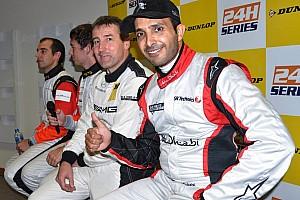 Endurance Qualifying report Team Abu Dhabi claim pole for Dunlop 24 Hours of Dubai