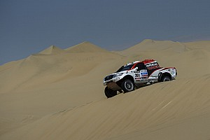 Dakar Breaking news De Villiers and von Zitzewitz well placed and prepared for week two