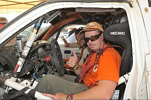 Dakar Stage report Both G-Forces in the top 10