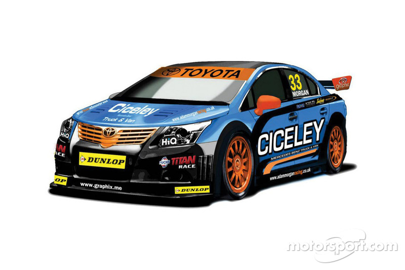 Morgan unveils new 2013 Toyota Avensis challenger