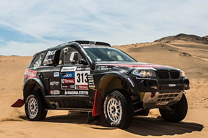Terranova takes his BMW X3 CC to third position in stage 13