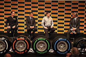 Formula 1 Breaking news Pirelli introduces new 2013 Formula 1 tyres