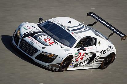 Dion von Moltke teamed with Audi factory stars for Daytona 24H