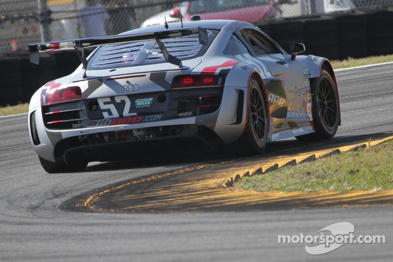 APR Motorsports qualifies two Audi R8s for Daytona 24H