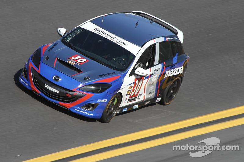 Ellis leads SCC Street Tuner pack before mechanical issue at Daytona
