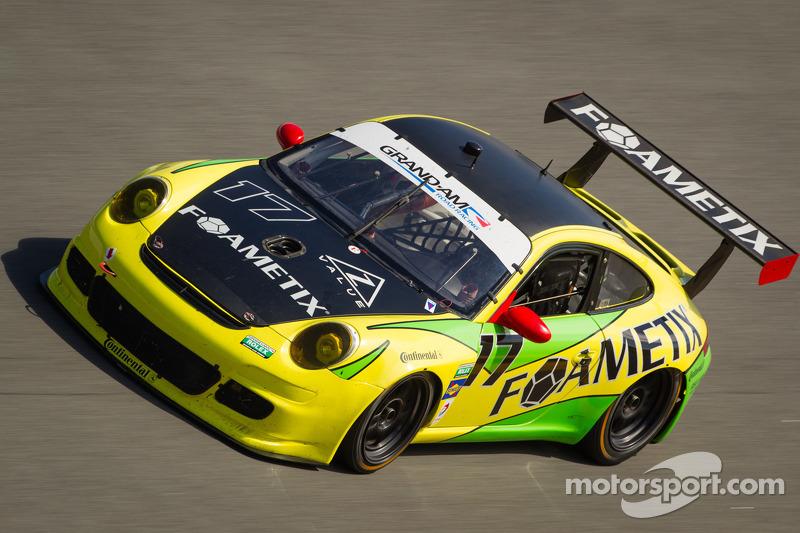 FOAMETIX/Burtin Racing Porsche rallies in Daytona opening stages