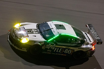 Porsches finish fifth, sixth, tenth at Rolex 24 GT