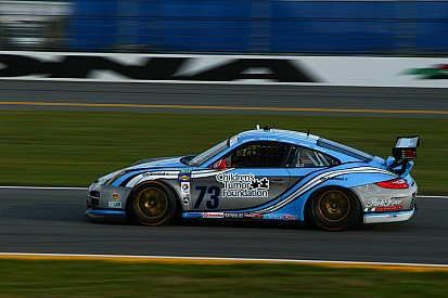 Park Place/Racing4Research fight back from problems at the Rolex 24 At Daytona
