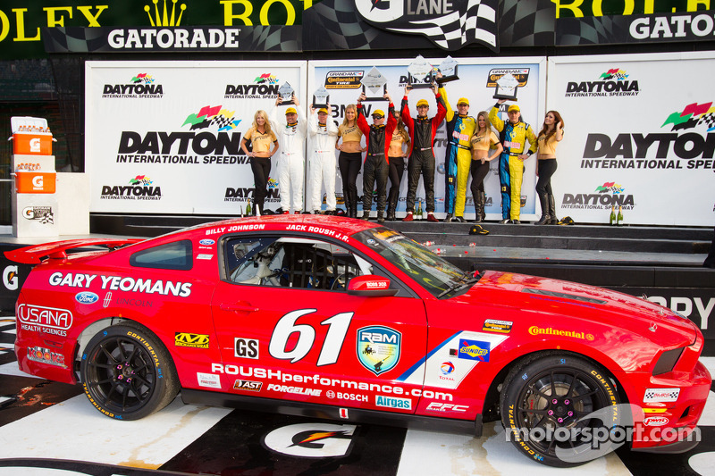 Jack Roush Jr. and Billy Johnson win Continental Tire opener at Daytona
