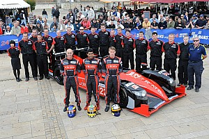Le Mans Breaking news JRM Racing's Le Mans success recognized by British Racing Mechanics Club