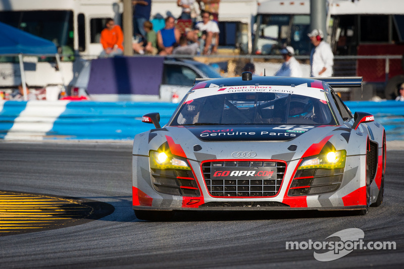 APR Motorsport narrowly misses GT class victory at Daytona 24H