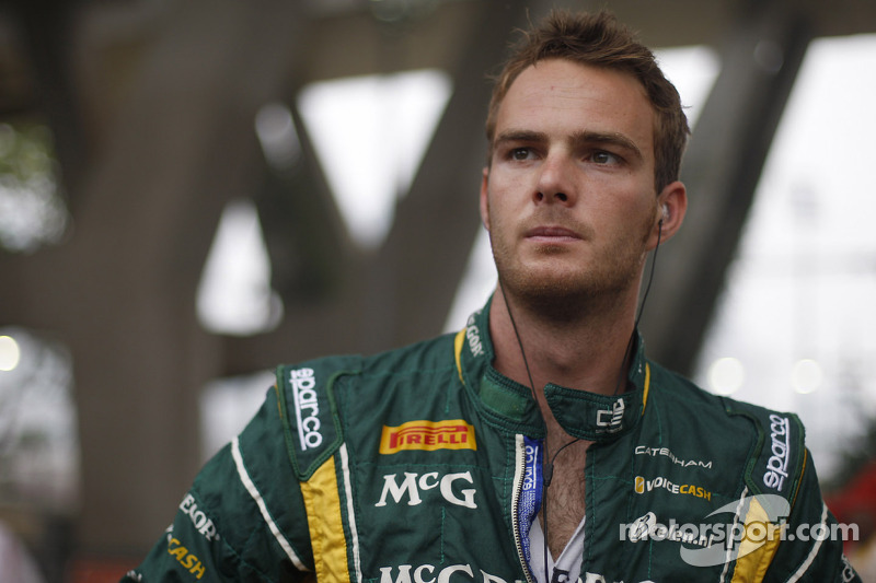 Giedo van der Garde confirmed as Caterham F1 Team race driver