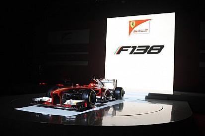 Ferrari presents stunning new F138