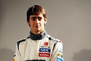 Formula 1 Interview Rookie F1 driver Gutiérrez is ready to drive the Sauber C32