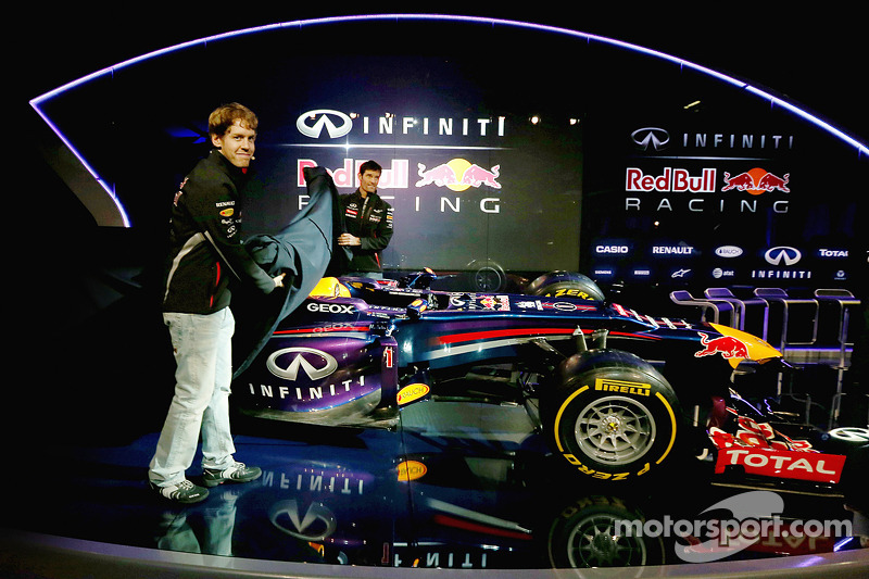 Infiniti Red Bull Racing reveals the RB9 - video