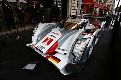 Audi sports cars selected as Le Mans icons