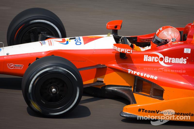 Andretti Autosport signs E.J. Viso