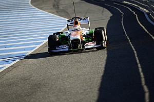Formula 1 Testing report Sahara Force India continues with third day of Jerez testing