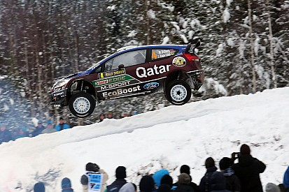 Qatar M-Sport team survives leg one of Rally Sweden