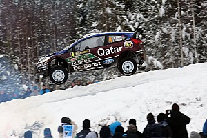 WRC Leg report Qatar M-Sport team survives leg one of  Rally Sweden