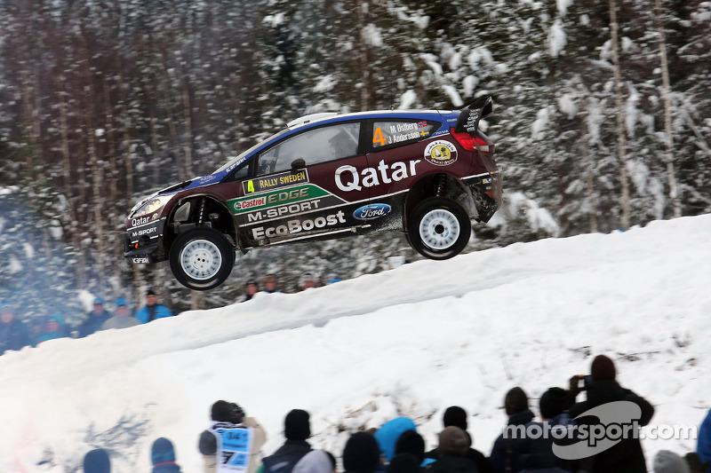 Qatar M-Sport team survives leg one of  Rally Sweden