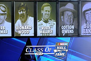 NASCAR Cup Breaking news Eras mesh during Hall of Fame induction ceremony