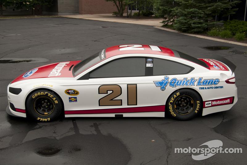 The 2013 Ford Fusion Stock Car Makes Its Debut At Daytona
