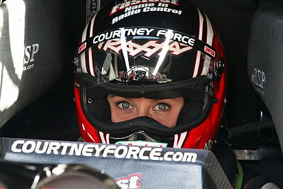 Courtney Force posts the quickest time in qualifying at Winternationals