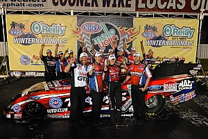 NHRA Race report C. Force, Langdon and Nobile are the season-opener winners in Pomona