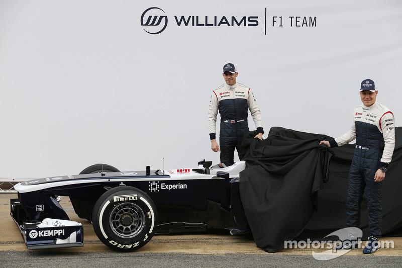 Williams F1 unveil FW35 challenger