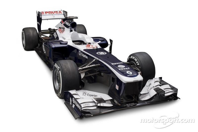 Williams F1 launch 2013 car - FW35