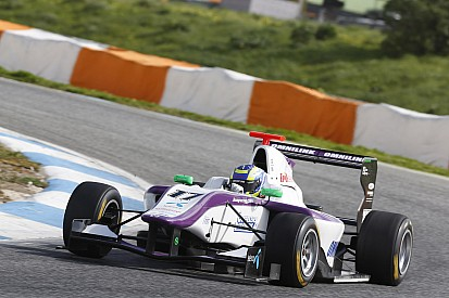 Jimmy Eriksson completes maiden GP3 Series test