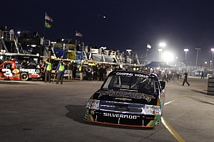 NASCAR Truck Race report Hornaday finishes third in season-opener at Daytona International Speedway