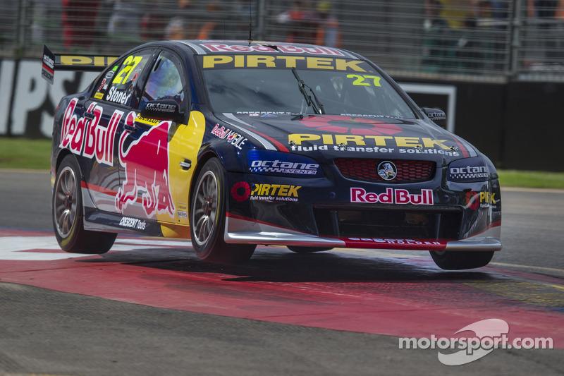 Casey Stoner impresses in first practice in Dunlop V8 Supercar series debut