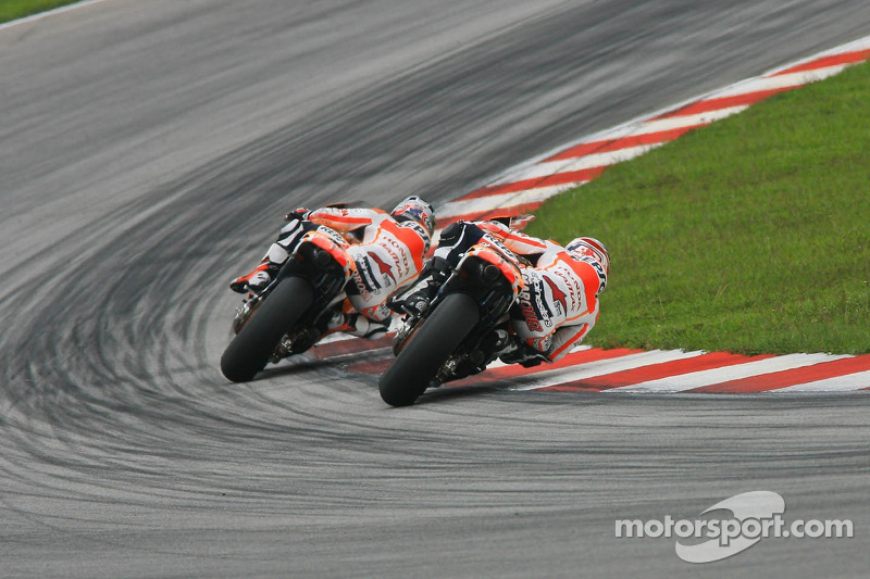 Pedrosa and Márquez content after one-two finish on final test day in Sepang