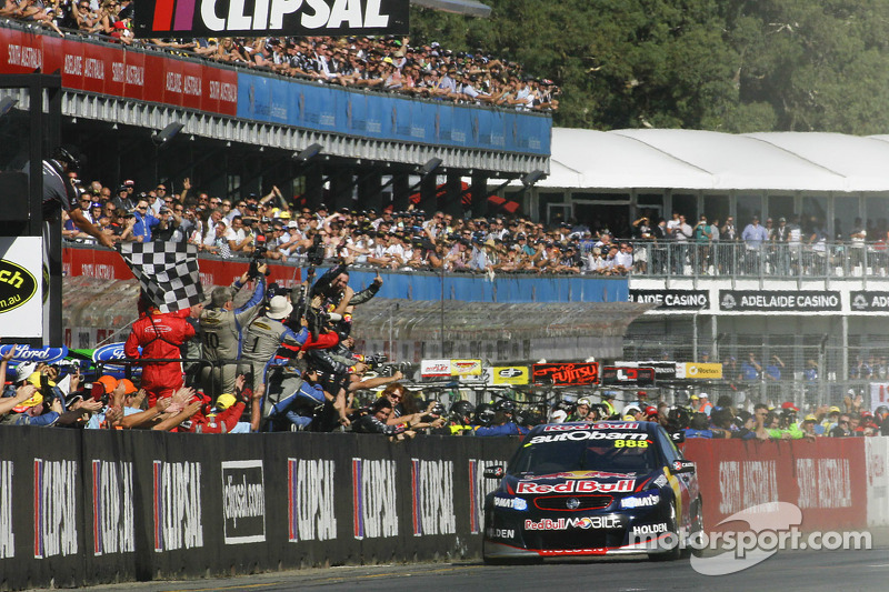 """Lowndes claims first victory of the """"new era"""" on Saturday in Adelaide"""