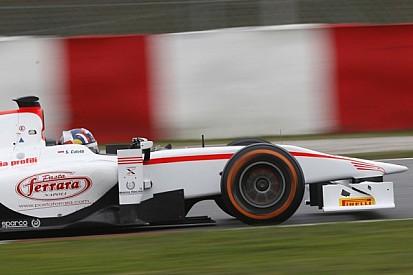 Coletti tops wet day 1 testing on Circuit de Catalunya