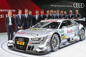DTM Interview Jamie Green about the Audi RS 5 DTM