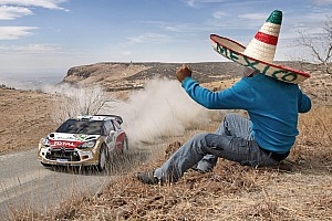 WRC Race report Hirvonen secures podium spot on Rally Mexico