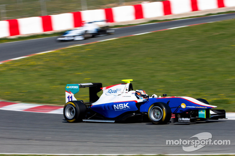 Niederhauser on top as Barcelona testing ends
