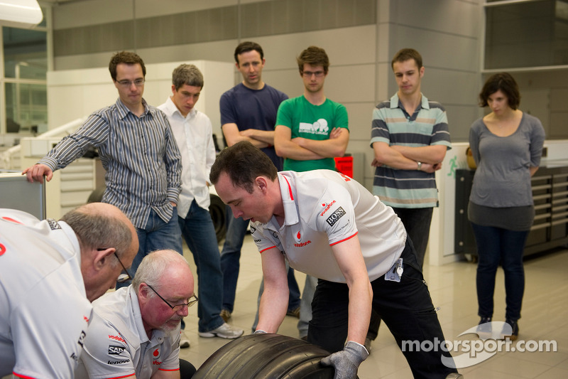 Young scientists challenged by McLaren and GSK to help drive science behind Formula 1™