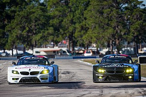 ALMS Qualifying report BMW Team RLL qualifies eighth and ninth for Sebring 12 Hours