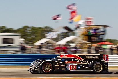 Rebellion Racing had good qualifying results at Sebring