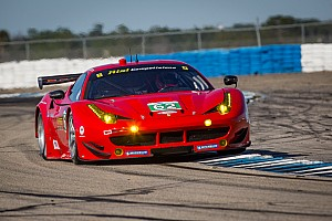ALMS Race report The No.62 Risi Competizione Ferrari held 2nd in GT after 4 hours in Sebring