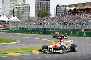 Formula 1 Race report 10 points for Sahara Force India after Australian GP