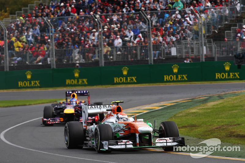 Sutil stuns paddock with F1 comeback