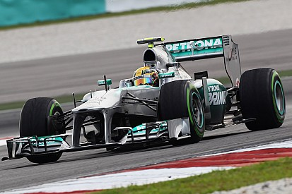 Mercedes AMG Petronas results after Malaysian practice