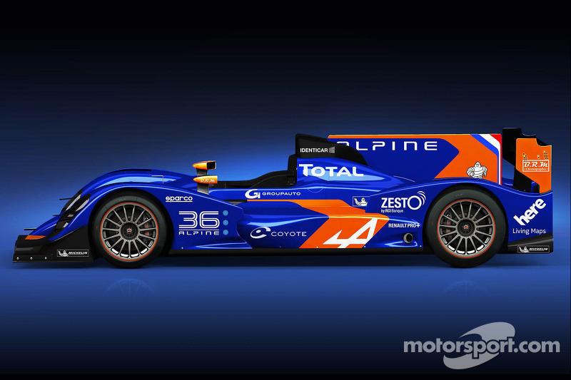 Nelson Panciatici will race in Alpine N° 36