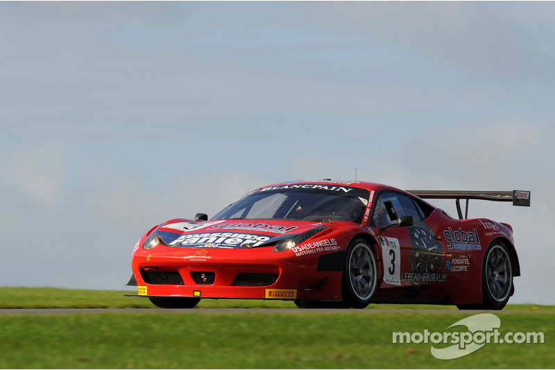 The engagement of AF Corse in the FIA GT Series 2013