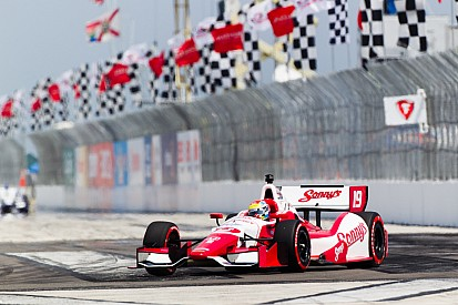 Wilson had a solid start with a 9th place finish in St. Pete